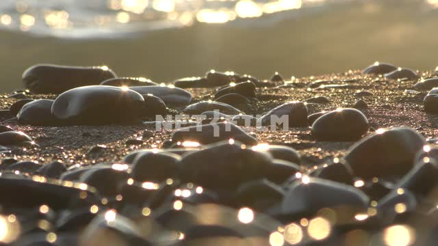 Sea stones in the sea Russia, the Black sea, the Caucasus, the sun, nature, summer, landscape, sea,...