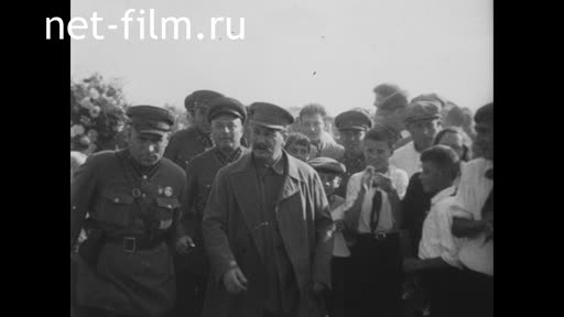 Footage Meeting with the pilots. (1936)