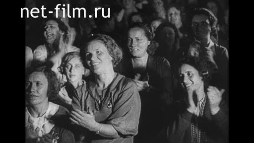 "Footage Fragments of the d/f "" Country of the Soviets"". (1937)"