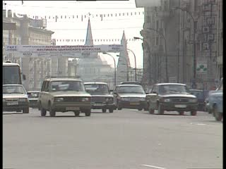 Footage Autumn Moscow. (1990 - 1999)