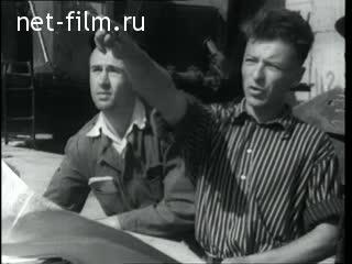 киножурнал новости дня хроника наших дней 1954 55