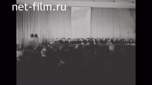 Footage The 70th anniversary of the 1905 revolution. (1975)