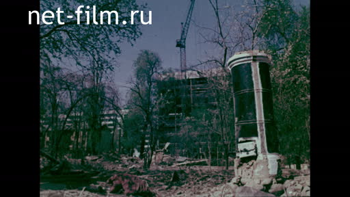 Footage Housing construction in Alma-Ata. (1975)
